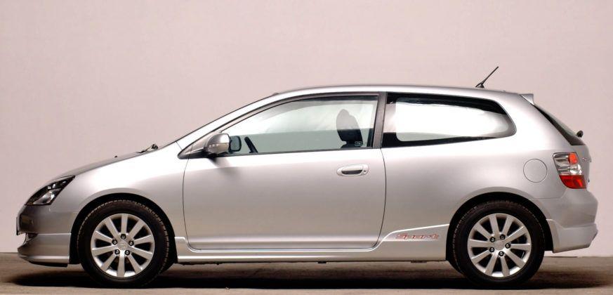 Honda Civic VII - bok