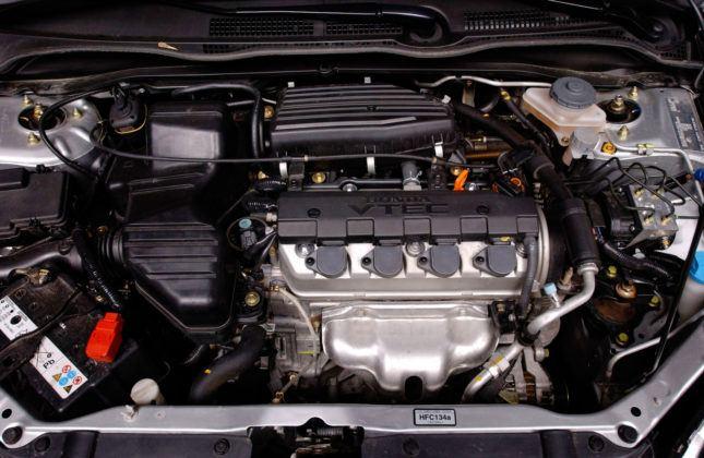 Honda Civic VII - silnik