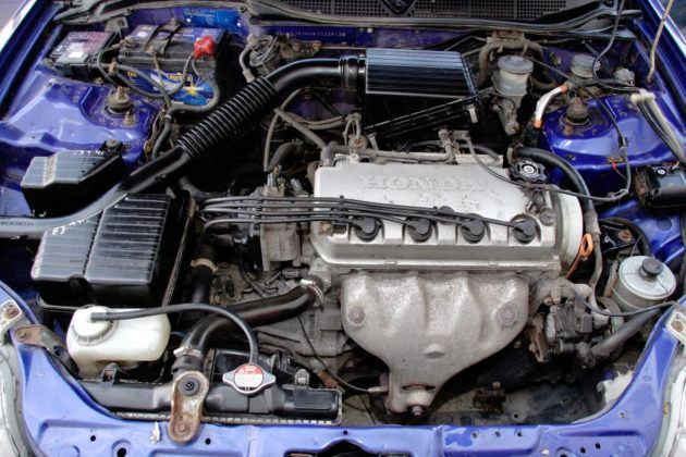 Honda Civic - silnik