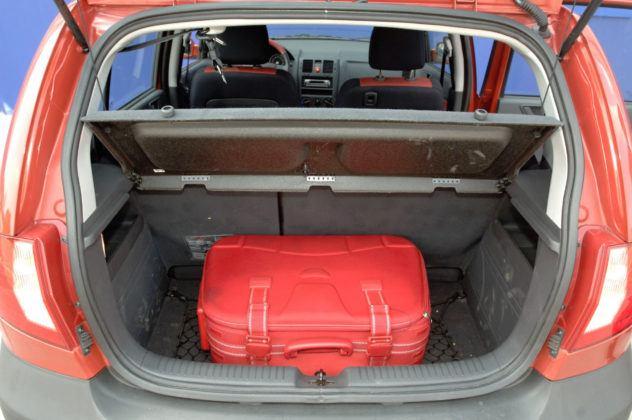 Hyundai Getz - bagażnik