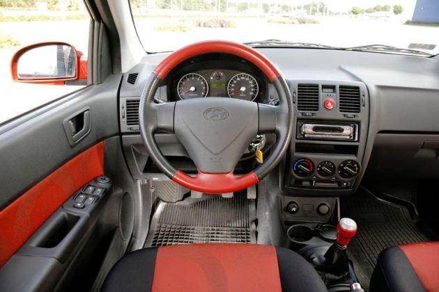 Hyundai Getz - deska rozdzielcza