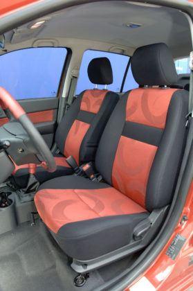 Hyundai Getz - fotel kierowcy