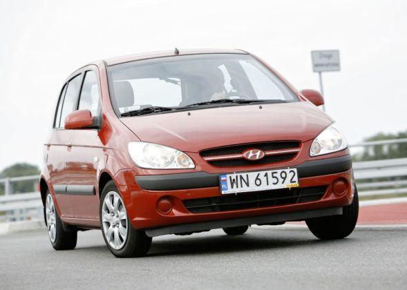 Hyundai Getz - przód