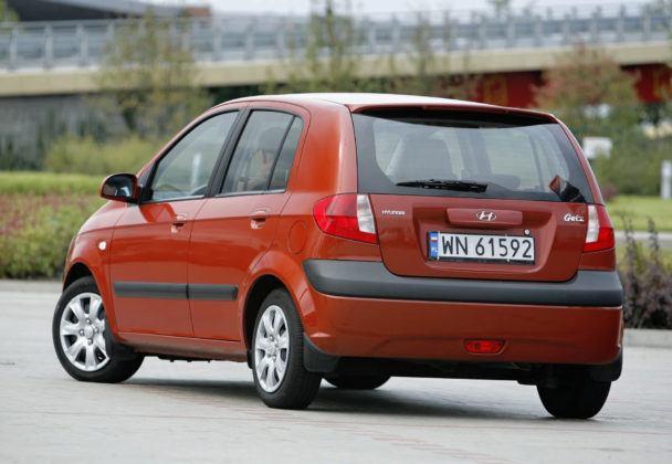 Hyundai Getz - sylwetka