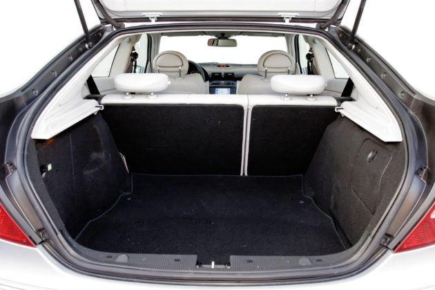 Mercedes C Sportcoupe - bagażnik