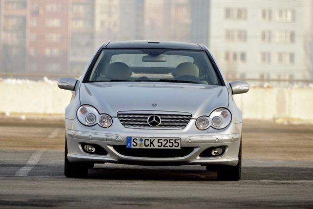 Mercedes C Sportcoupe - przód