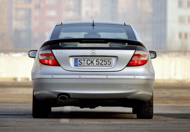 Mercedes C Sportcoupe - tył