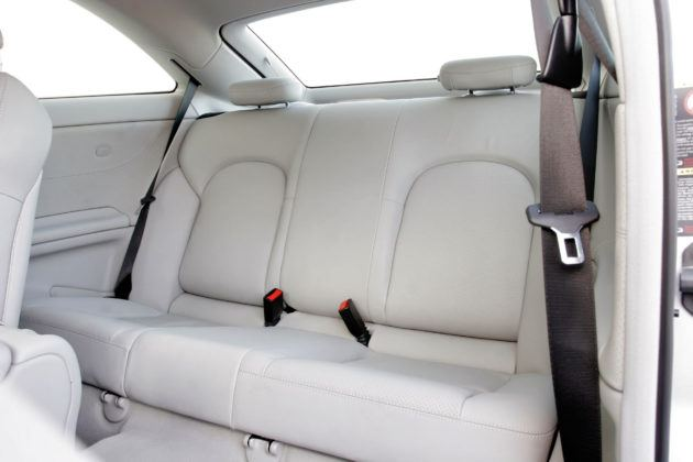 Mercedes C Sportcoupe - tylna kanapa