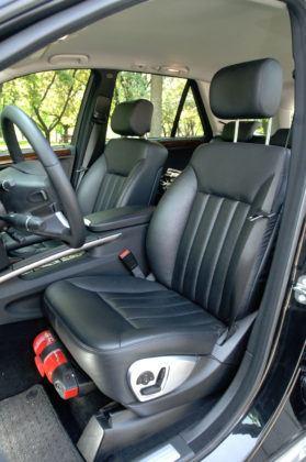 Mercedes ML - fotel kierowcy
