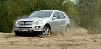 Mercedes ML - otwierające