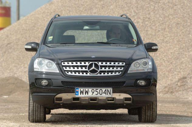 Mercedes ML - przód