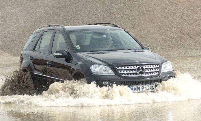Mercedes ML - w terenie