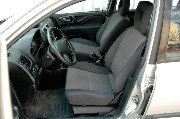 Mitsubishi Space Star - fotel kierowcy