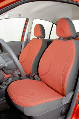 Nissan Micra - fotel kierowcy