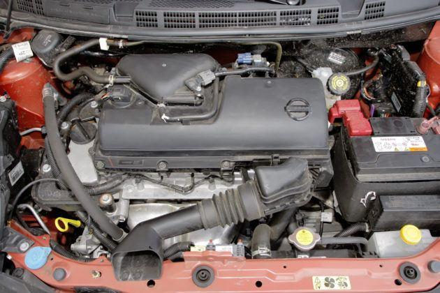 Nissan Micra - silnik