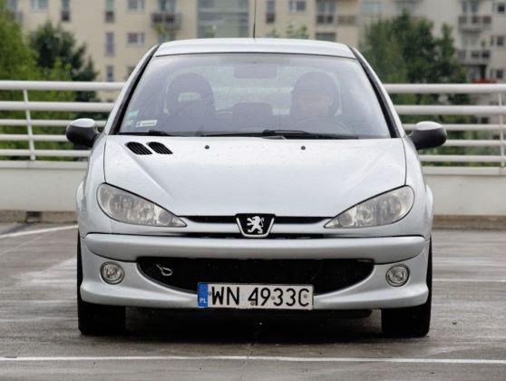 Peugeot 206 - przód