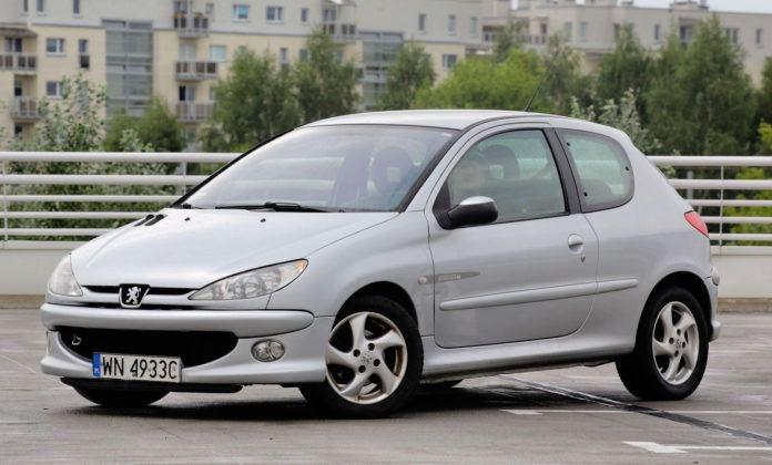 Peugeot 206 - sylwetka