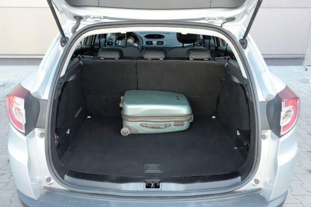Renault Megane III - bagażnik