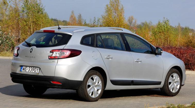 Renault Megane III - tył