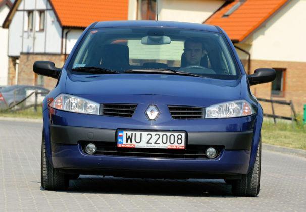 Renault Megane - przód
