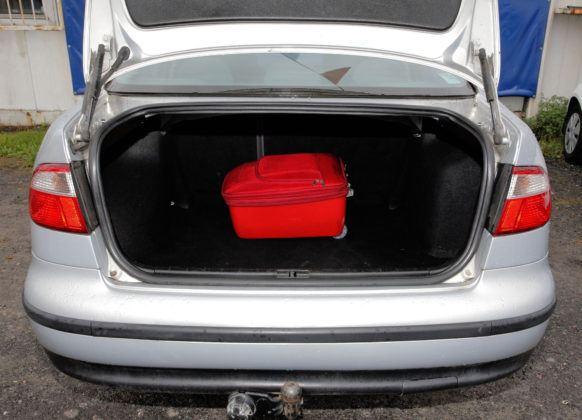 Seat Toledo - bagażnik