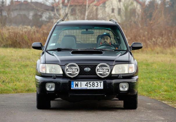 Subaru Forester I - przód
