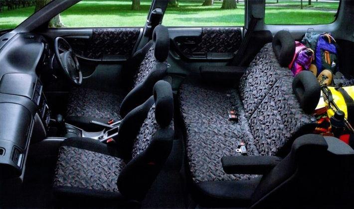 Subaru Forester I - wnętrze