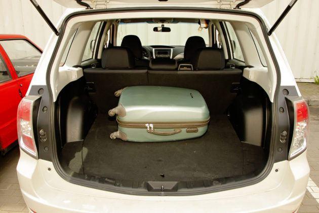 Subaru Forester (2008-2013) - bagażnik