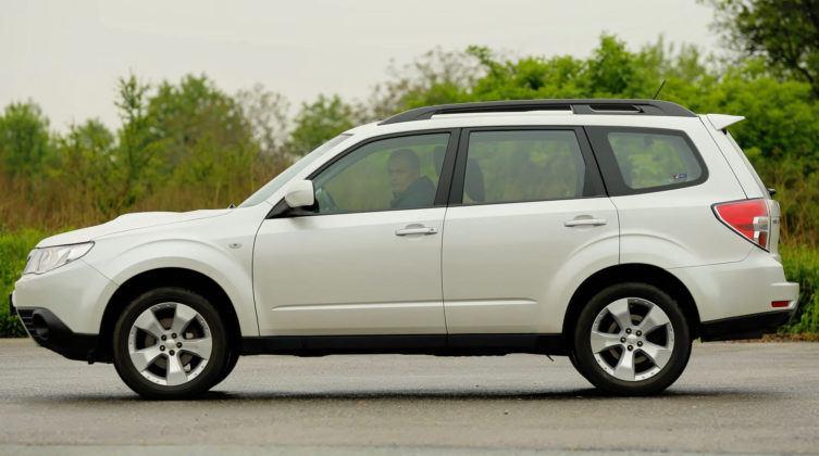 Subaru Forester (2008-2013) - bok