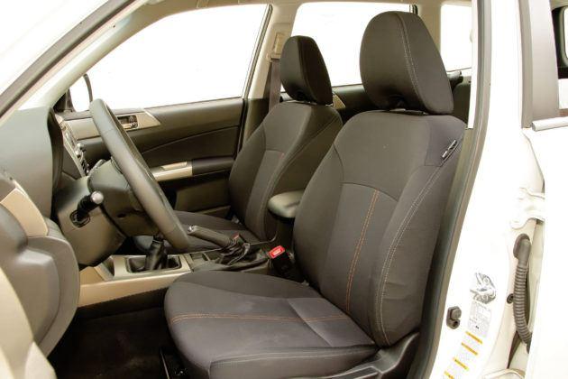 Subaru Forester (2008-2013) - fotel kierowcy