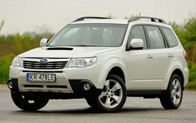 Subaru Forester (2008-2013) - sylwetka przód