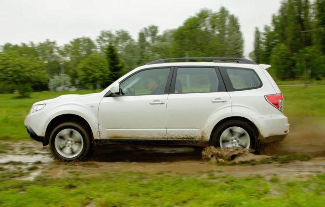 Subaru Forester (2008-2013) - w terenie