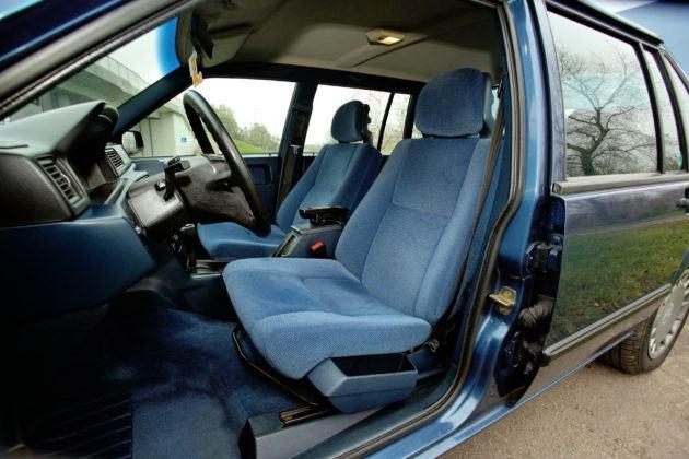 Volvo 940 - fotel kierowcy