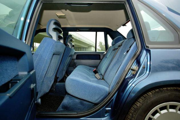 Volvo 940 - tylna kanapa