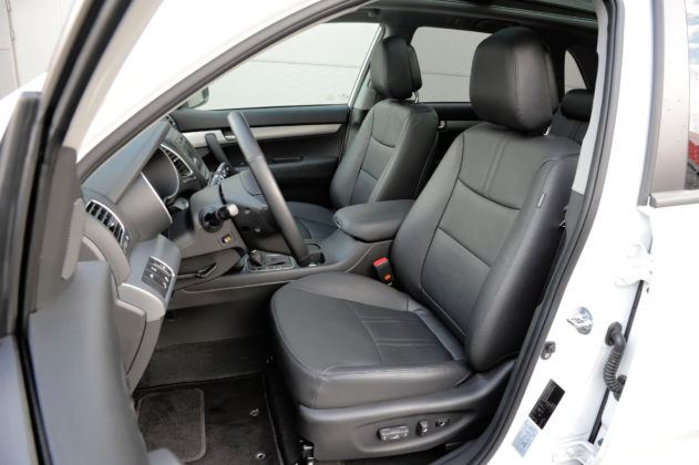 Kia Sorento - fotel kierowcy
