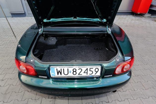 Mazda MX-5 - bagażnik