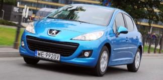 Peugeot 207 - otwierające