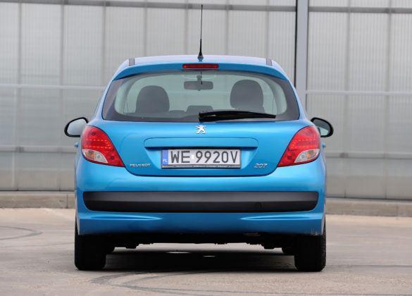Używany Peugeot 207 - tył