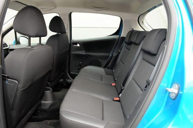 Peugeot 207 - tylna kanapa