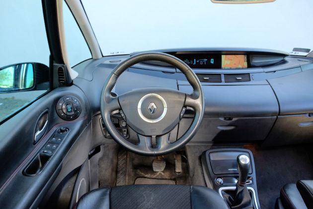 Renault Espace - deska rozdzielcza