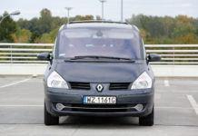 Renault Espace - otwierające