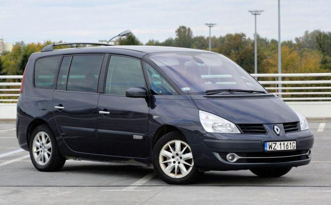 Renault Espace - przód