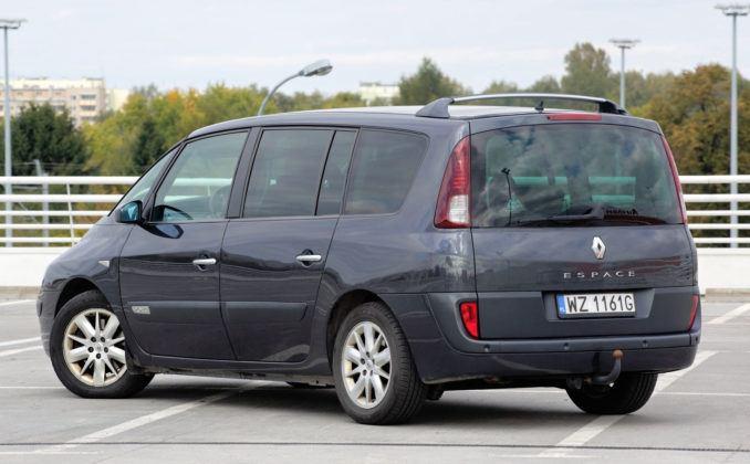 Renault Espace - tył