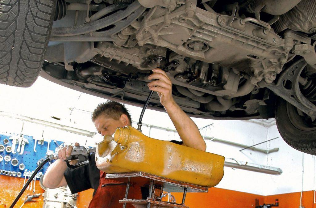 Wymiana oleju w skrzyni automatycznej
