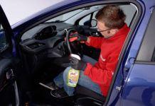 Czyszczenie wnętrza pojazdu