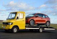 BMW i3 laweta