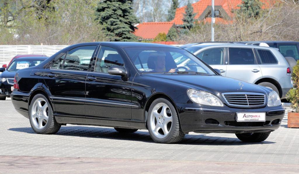 2 Mercedes Klasy S W220