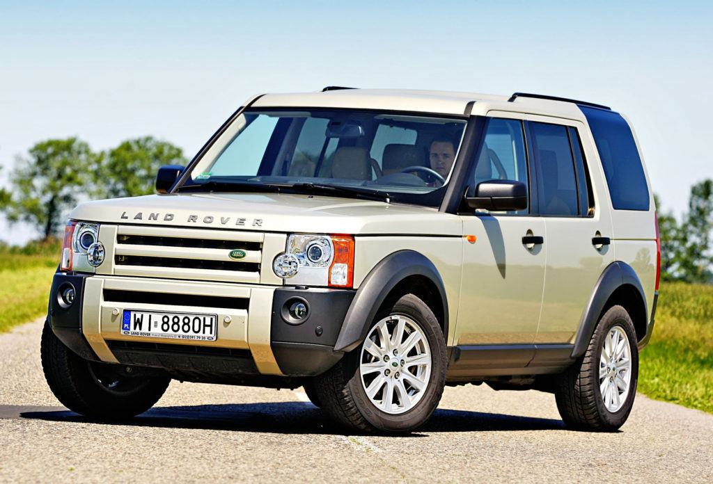 4 Land Rover Discovery 3