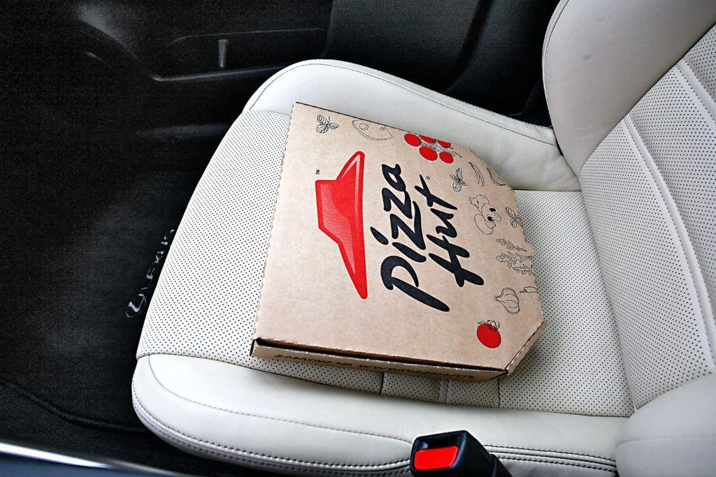Ogrzewanie pizzy