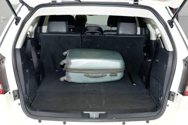 Używany Fiat Freemont - bagażnik